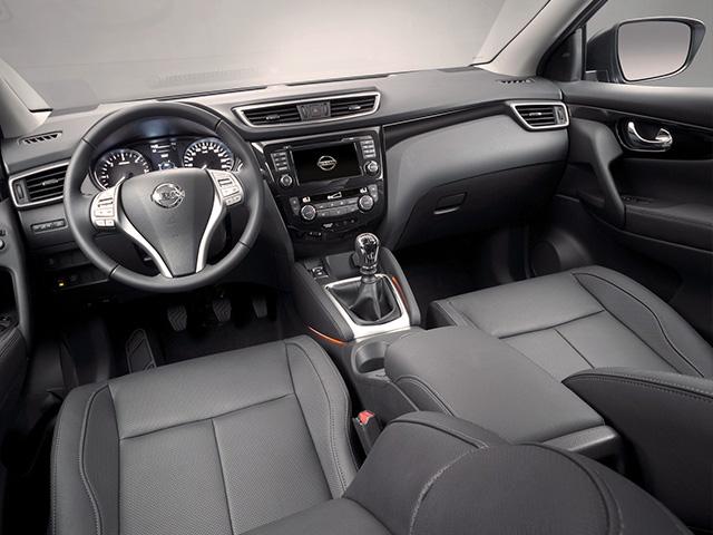 Nissan Qashqai 1.6 dCi X-Tronic iç mekan