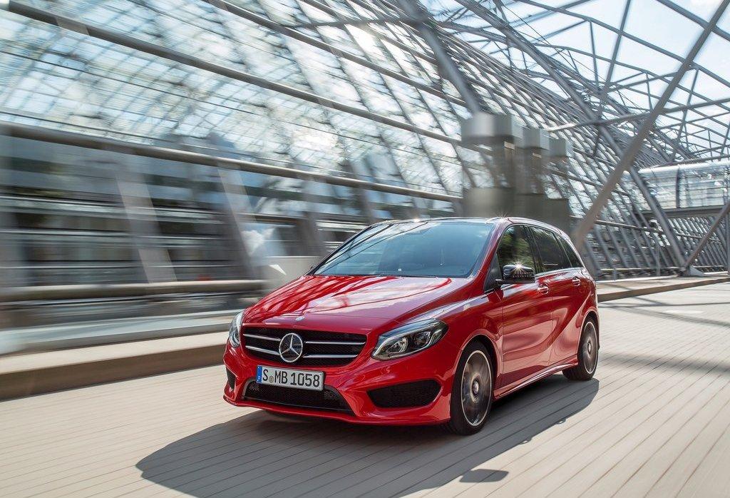 Yeni Mercedes B Serisi (2015) dış görünüm