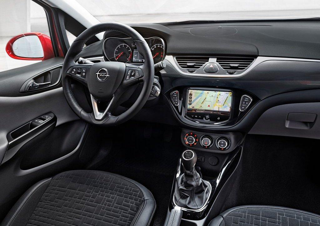 Yeni Opel Corsa (2015) Ön Kokpit