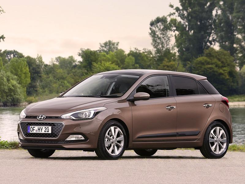 Yeni Hyundai i20 2015 model dış görünüm