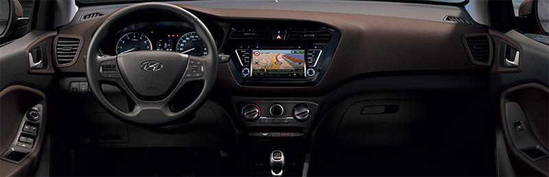 Yeni Hyundai i20 2015 model iç görünüm