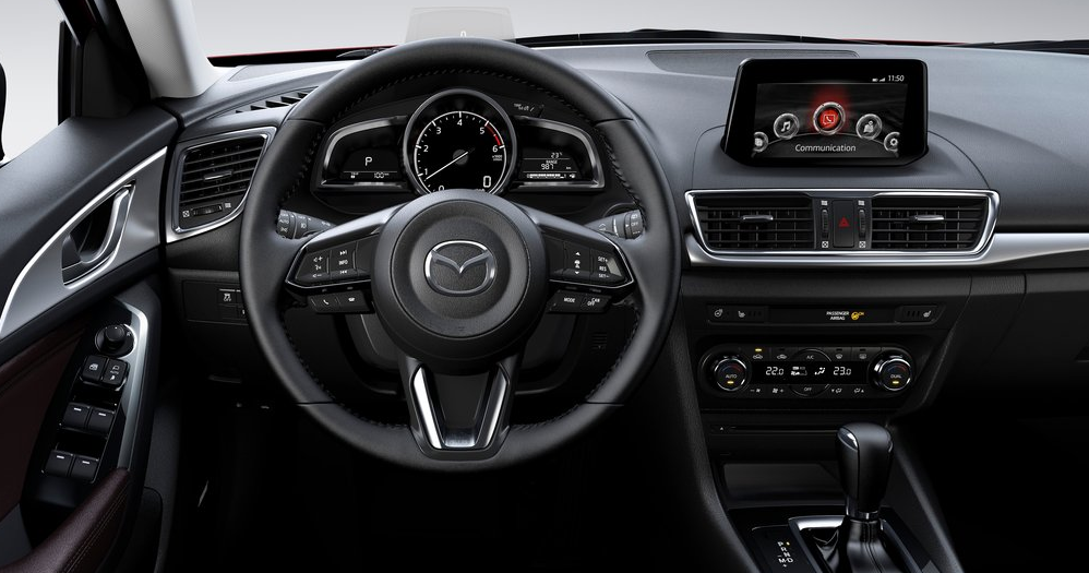Mazda3 ön konsol