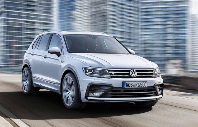 Volkswagen Tiguan SUV 1.4 litre TSI motor ve 125 beygir ile 200Nm Tork gücüne sahip.