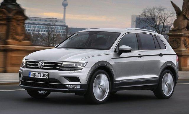 Volkswagen Tiguan SUV dört farklı motor seçeneğine sahip