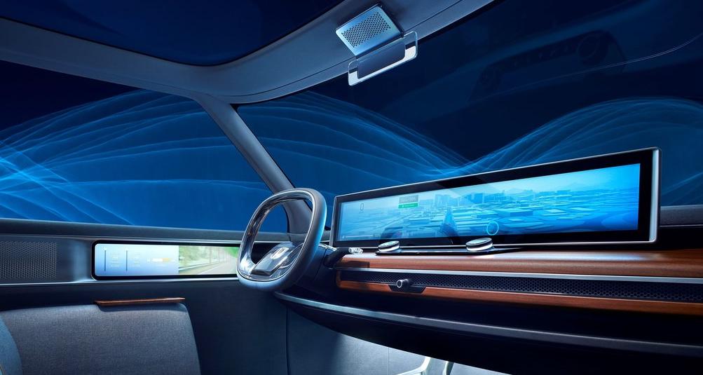 Honda Urban EV Concept Ön Konsol