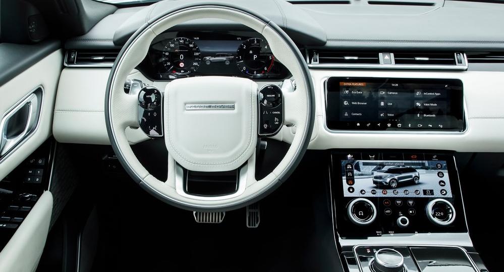 Range Rover Velar Ön Konsol