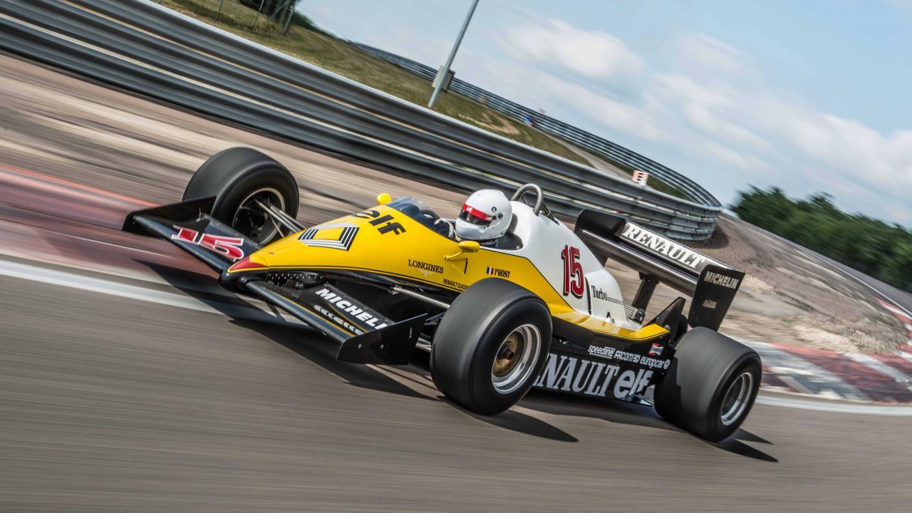 Renault F1'in 40 Yıllık Serüveni