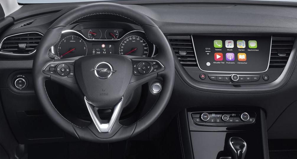 Opel Crossland X Ön Panel