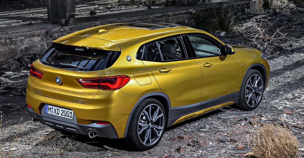 BMW X2 Arka Görünüm: BMW'nin SUV'ları 2018'de büyük atılım yapacak!