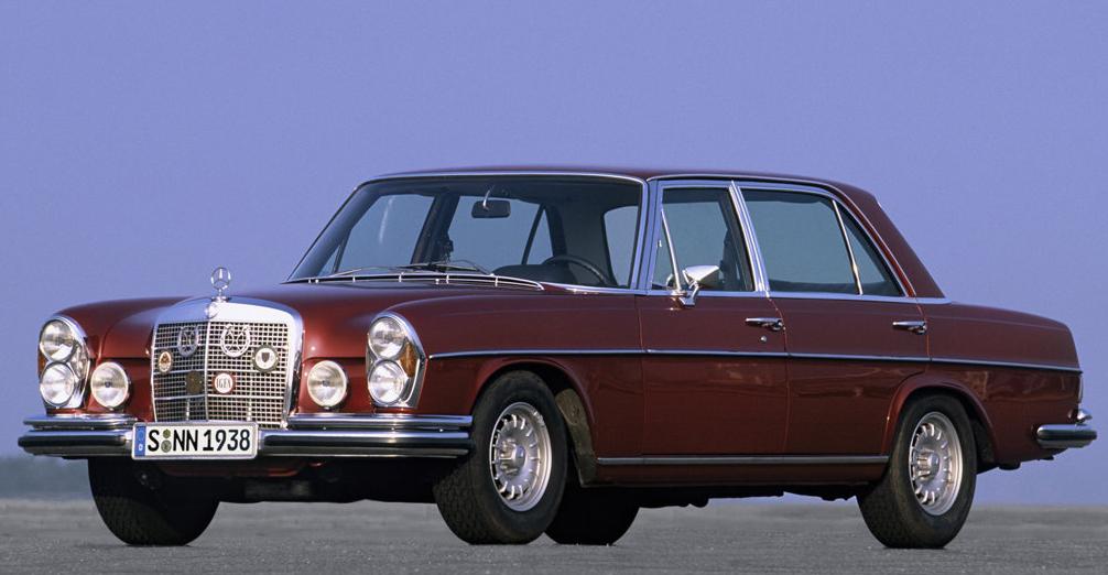 Mercedes AMG: 1971 300 SEL 6.3 AMG