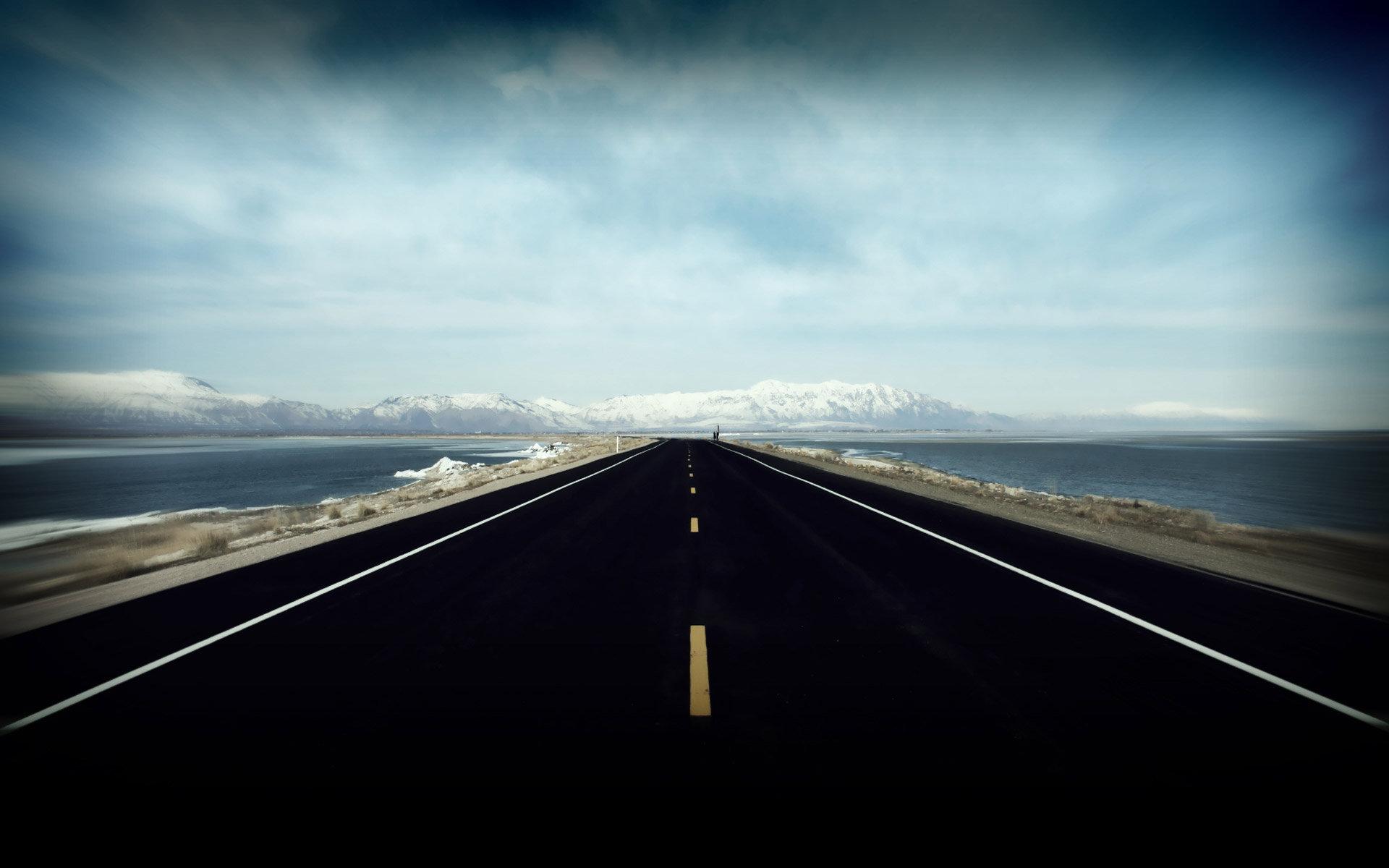 Asfalt Yol Bakış - Yol inşa teknolojileri