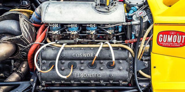 Cosworth motor görünümü