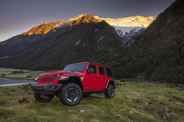 Jeep Wrangler Family Alerts CES 2018 Fuarı