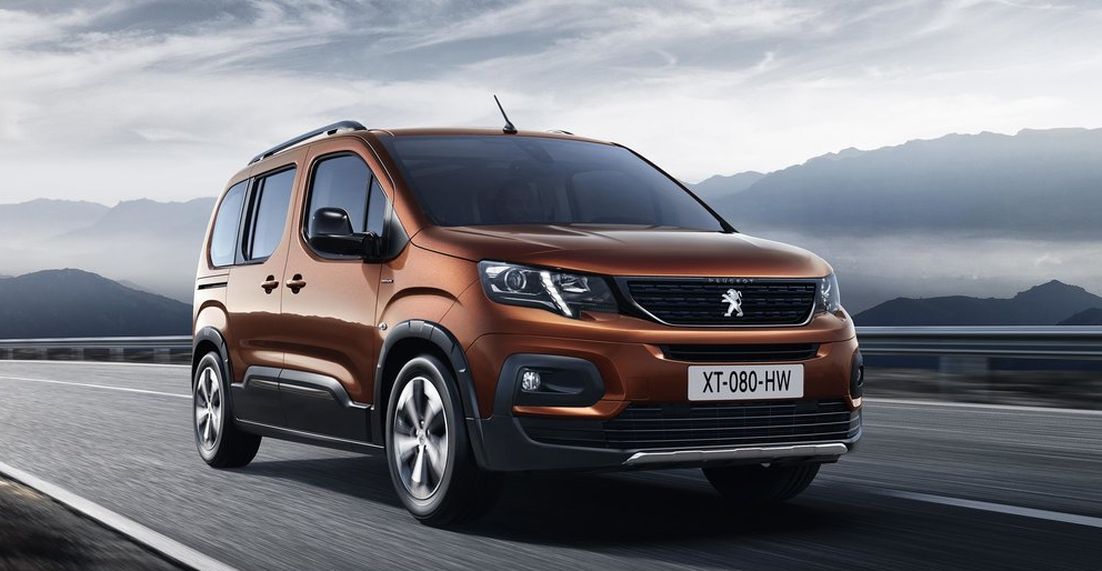 Peugeot Rifter Ön Görünüm