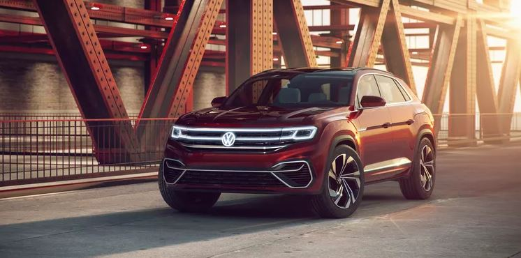 VW Cross Sport konseptinin LED ızgarası büyüledi