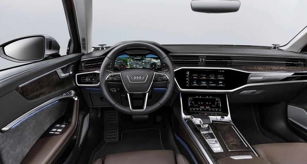 Audi A6 Ön Konsol Görünüm
