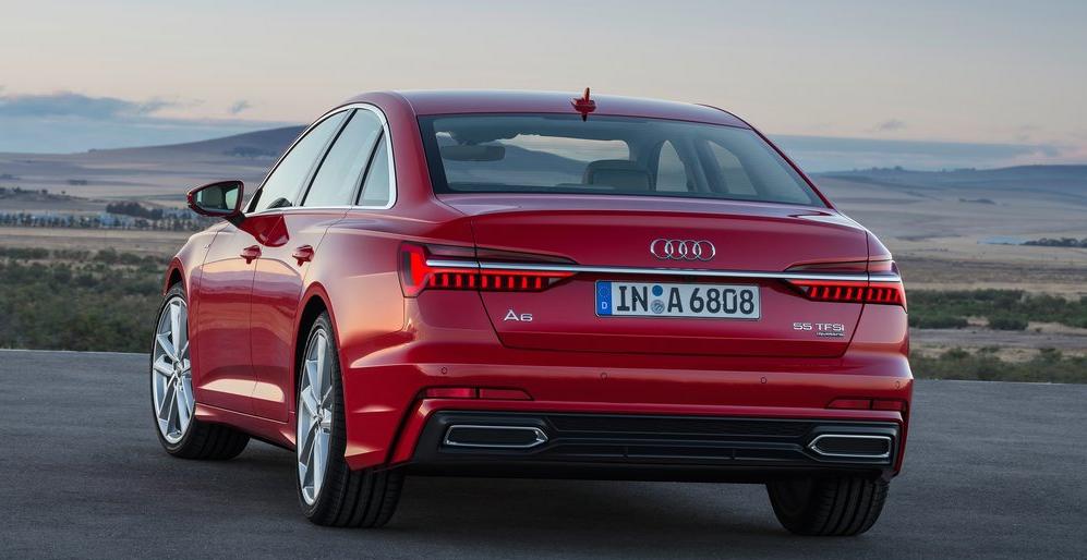 Audi A6 Arka Görünümü