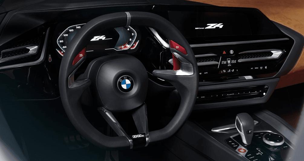 BMW Z4 Concept Ön Konsol Detayları