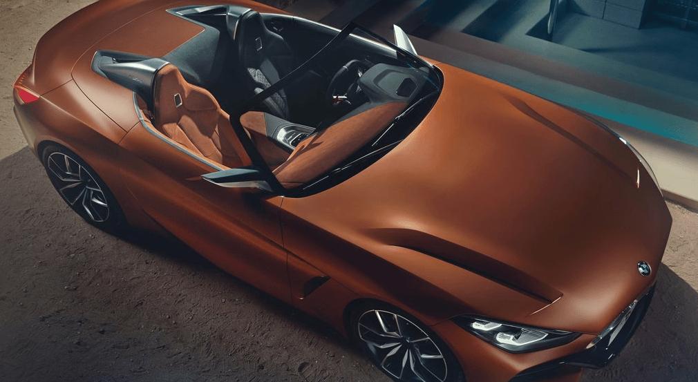 BMW Z4 Concept Üst Görünüm detayları
