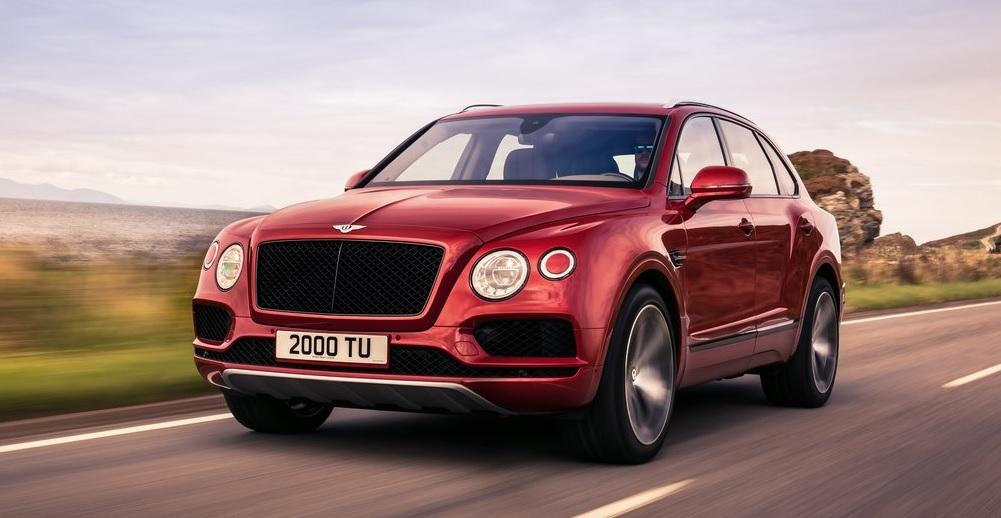 Bentley Bentayga V8 Ön Görünümü