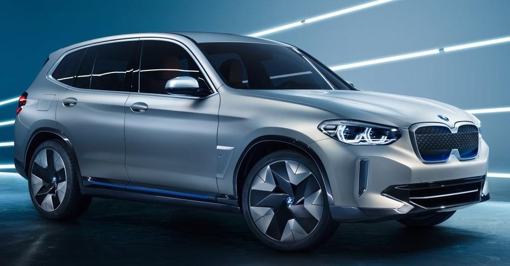 BMW İX3 Konsept genel gorunum