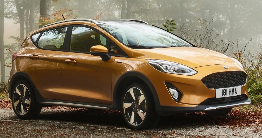 Ford Fiesta Active gorunum