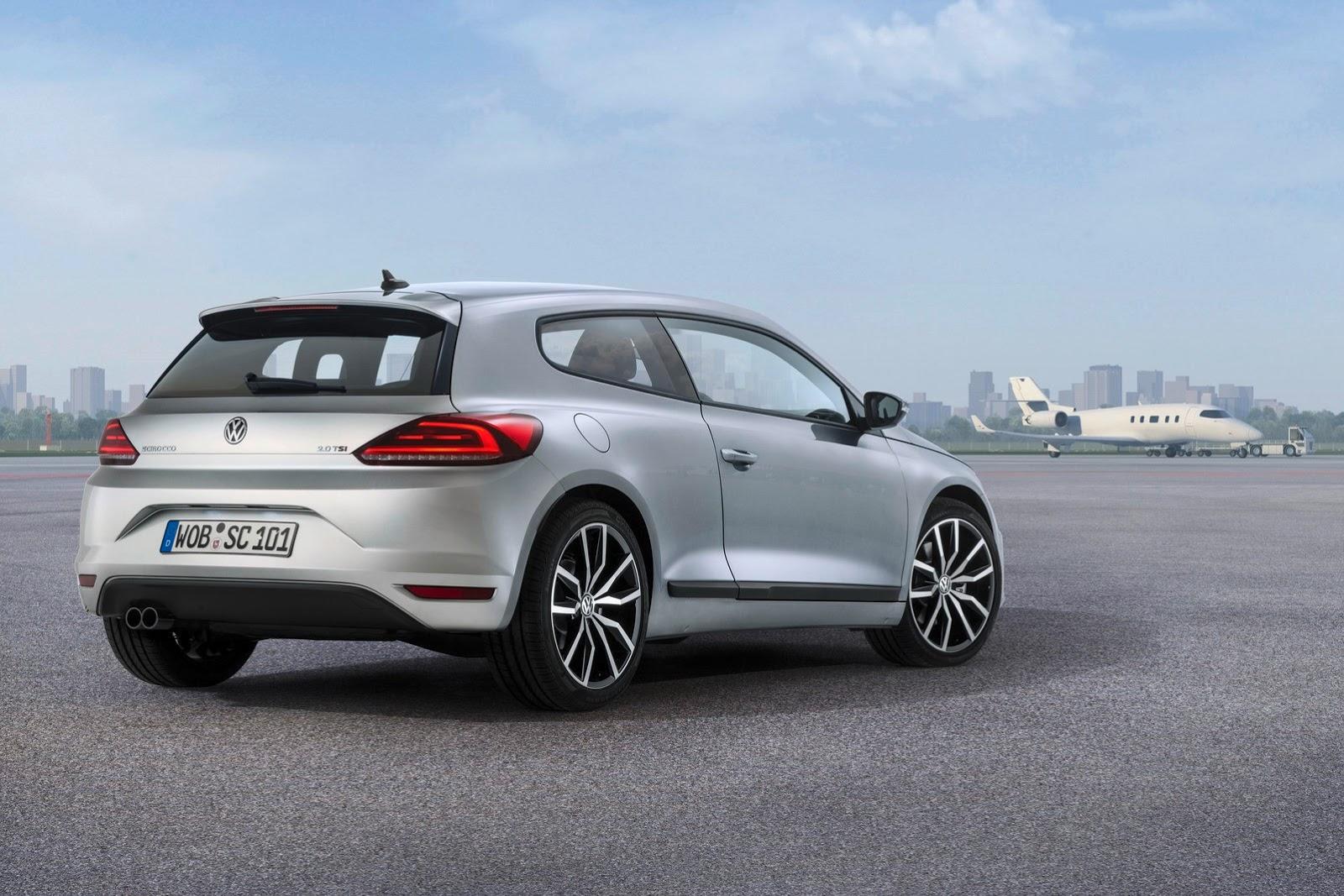 Volkswagen Scirocco III fotosu
