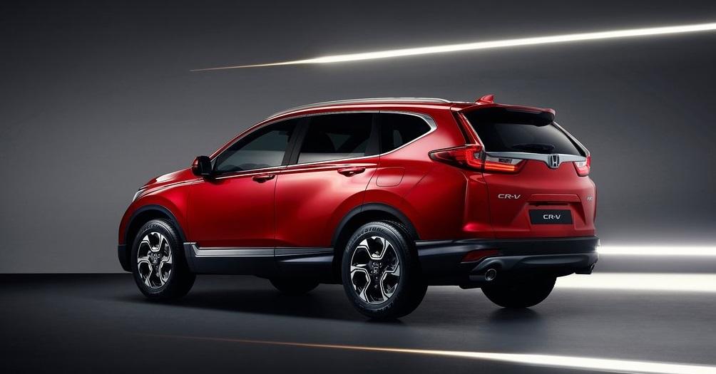 Beşinci nesil Honda CR-V arka görünümü