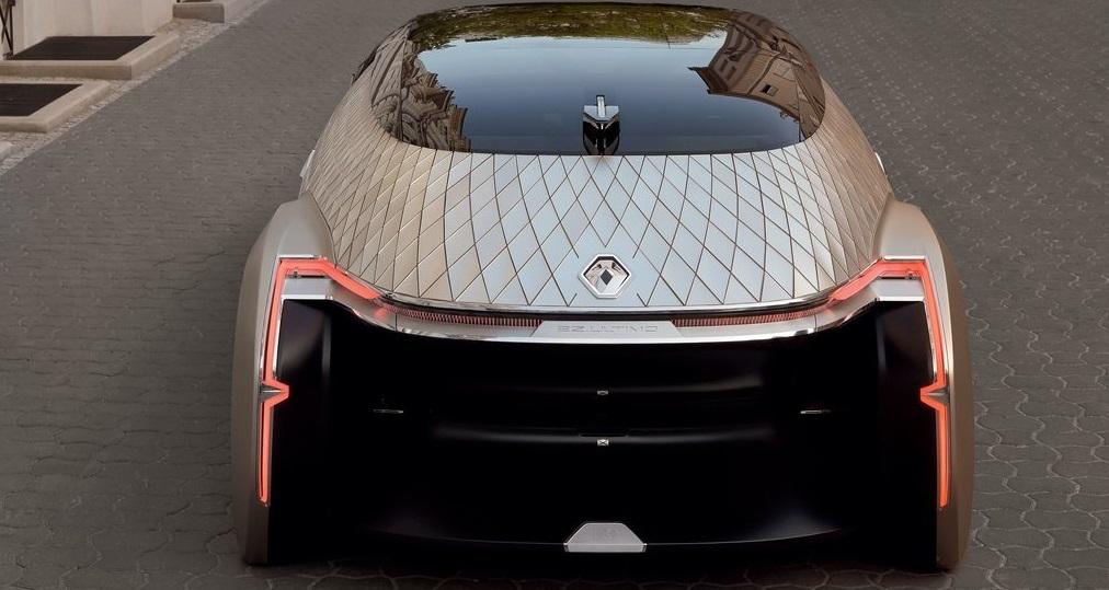 Renault EZ-Ultimo Concept arka görünümü