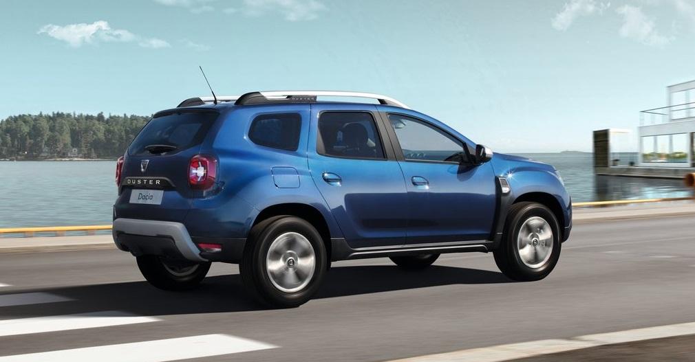 Dacia Duster arka görünümü