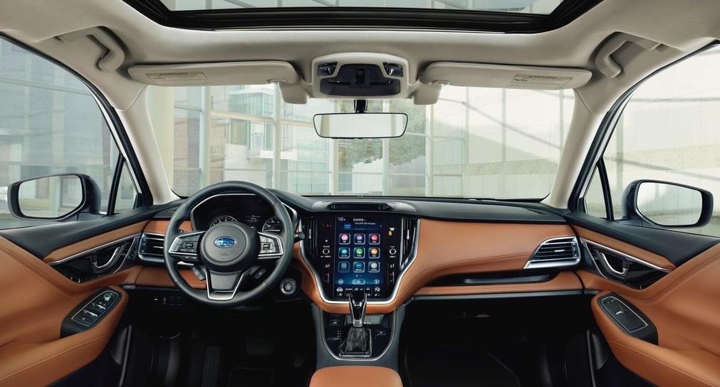 Subaru Legacy ön konsol