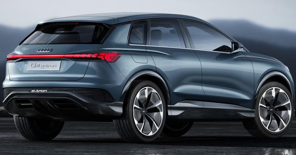 Audi Q4 e-tron concept arka görünümü