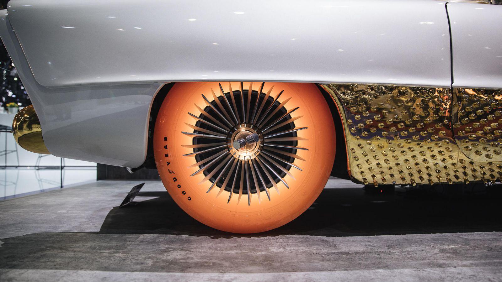 Goodyear Golden Sahara II lastik konsept