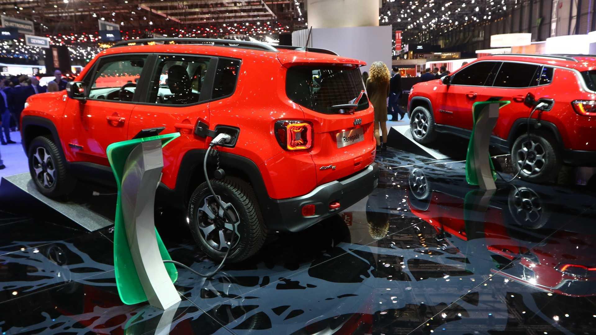 Jeep modelleri hibrit görünüm