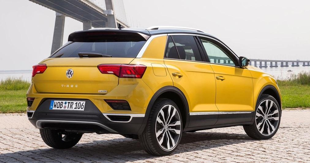 Volkswagen T-ROC arkadan bakış