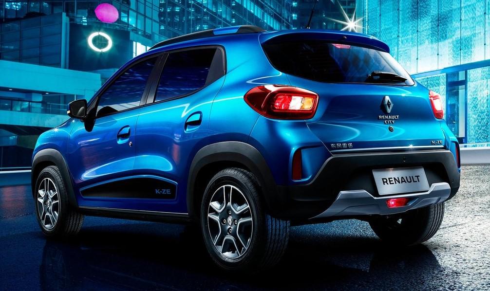 Renault City K-ZE arka görünümü