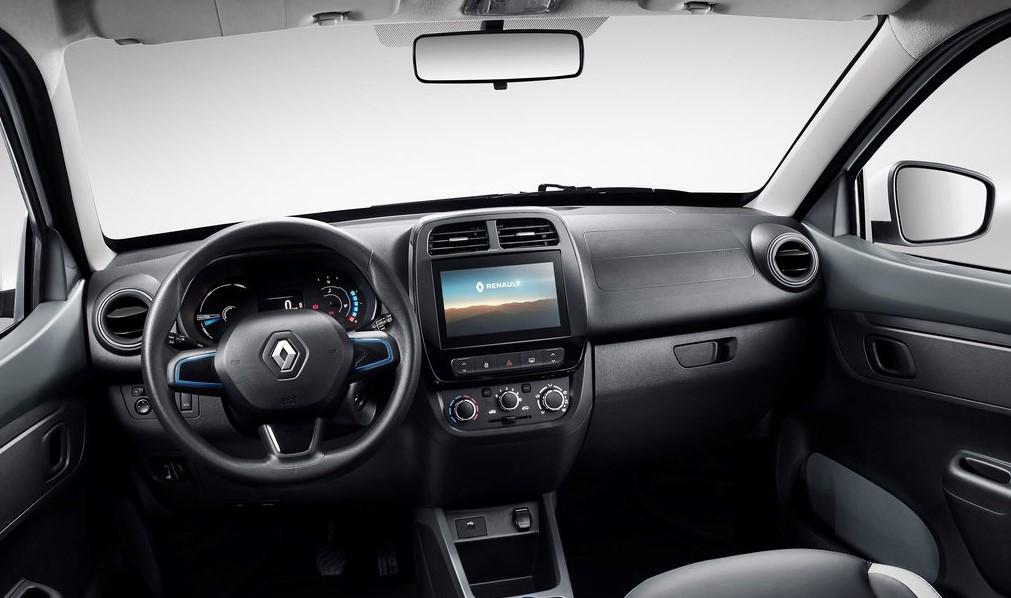 Renault City K-ZE ön konsolu